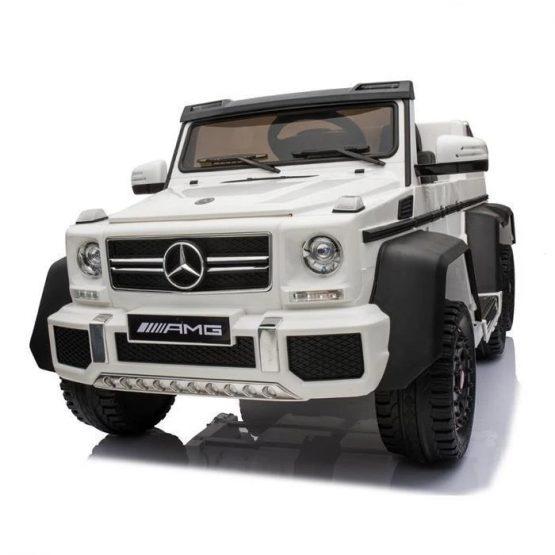 Vehicul electric cu telecomandă Mercedes Benz Alb
