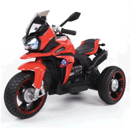 Motocicletă electrică 6V7AH cu 2 motoare 15W – Black&Red