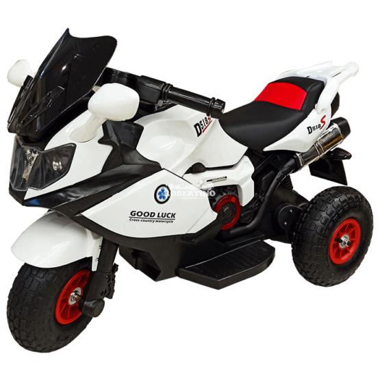 Motocicletă electrică 6V7AH cu 2 motoare 15W – White