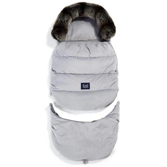 Husă cărucior Aspen Combo Dark Grey