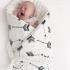 """Plapumă de înfășare nou-născuți Boho Royal Arrows """"La Millou"""""""