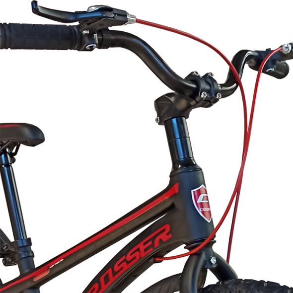 Bicicletă pentru copii Magnesium Black&Red Crosser