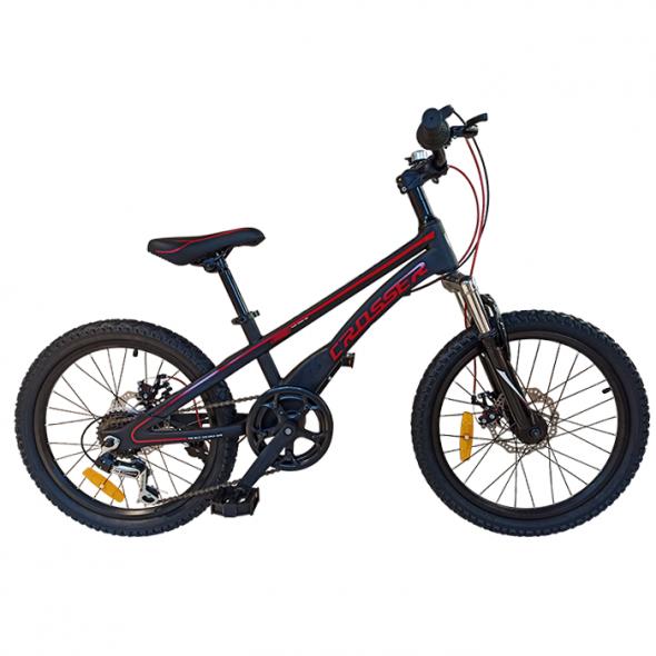 Bicicletă pentru copii Magnesium Sport Black Crosser