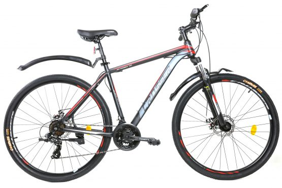 Bicicleta CROSSER 40D de inch 29 GD-SKD BLACK/RED