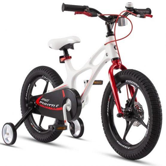 Bicicletă pentru copii Crosser Magnesium New  (White/Red)