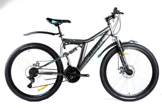 Bicicleta Azimut Blackmount de 24 inch Grey/Blue